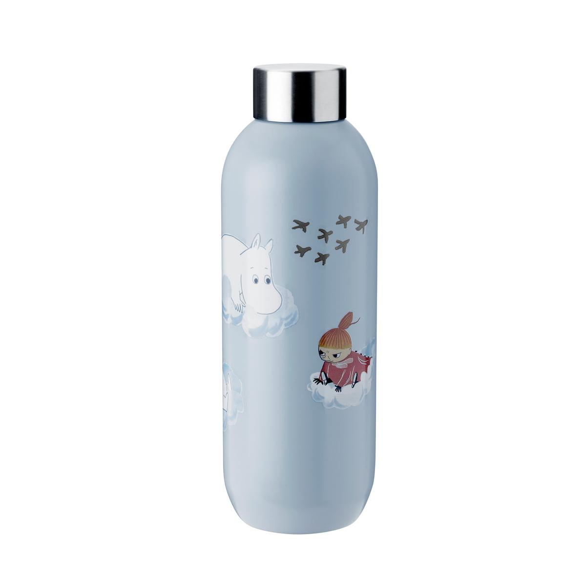 Stelton - Keep Cool Moomin Trinkflasche 0,75 l, cloud