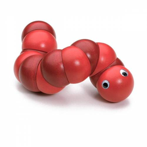 Naef - Juba Holzraupe, rot
