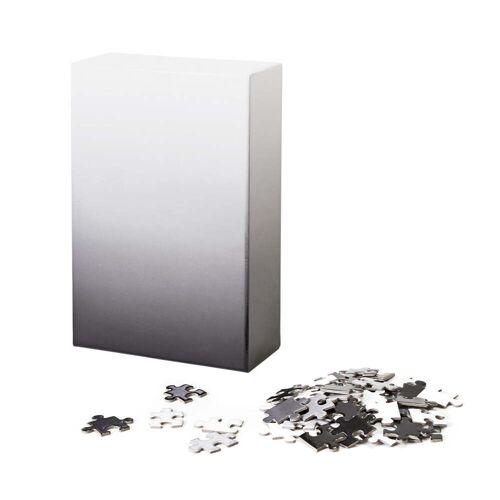 Areaware - Farbverlauf Puzzle, schwarz / weiß (500-tlg.)