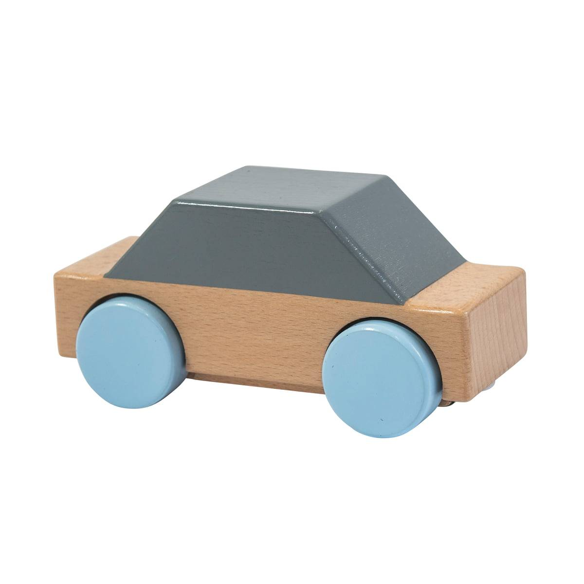Sebra - Spielzeugauto aus Holz, grau