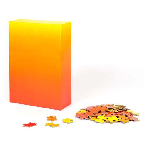 Areaware - Farbverlauf Puzzle, rot / gelb (500-tlg.)