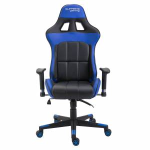 CARO-Möbel Gamingstuhl CREW in schwarz/blau