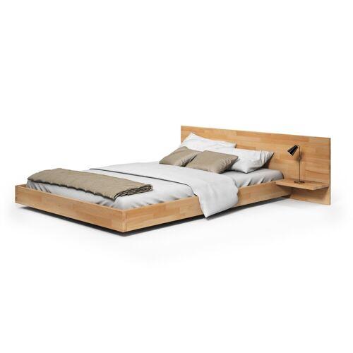 Bett Gesta aus Buche rustikal