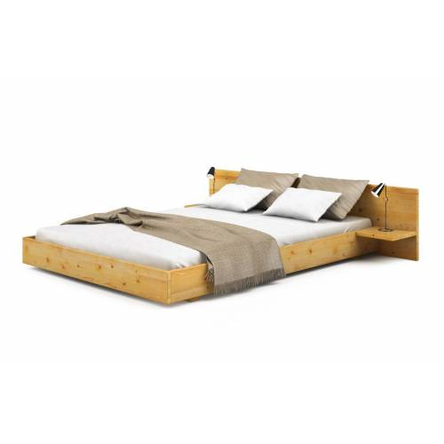 Bett Impesa aus Kiefer