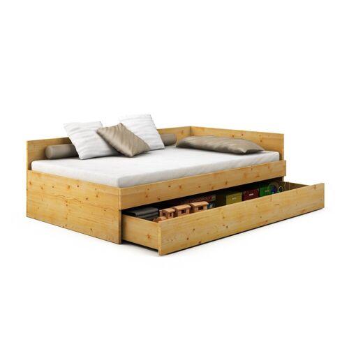 Bett Juno aus Kiefer