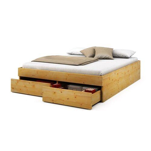 Bett Streta aus Kiefer