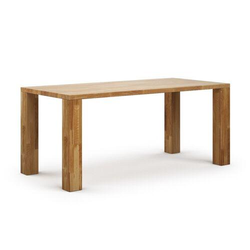 Tisch Elevat aus Eiche Rustikal