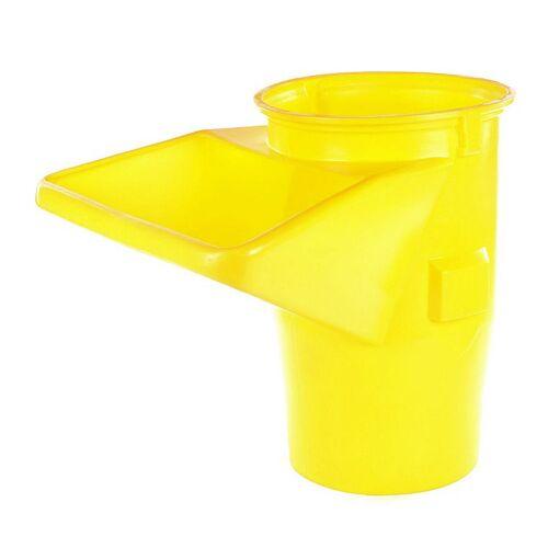 Topleiter Schuttrutsche Trichter gelb / 5,0-5,5 mm