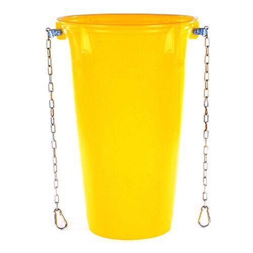 Topleiter Schuttrutsche Rohr gelb / 5,0-5,5 mm