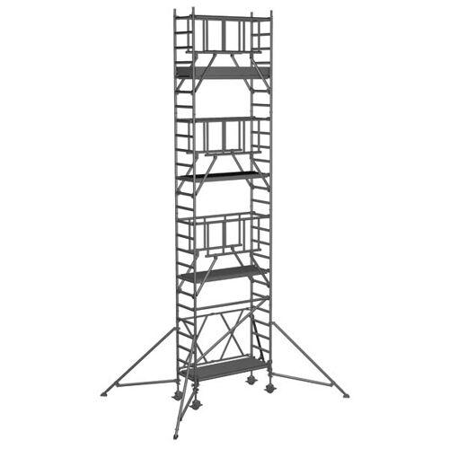 Zarges Klappgerüst S-PLUS 2T doppelte Plattformbreite 8,50m AH