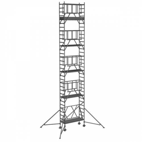 Zarges Klappgerüst S-PLUS 2T doppelte Plattformbreite 10,45m AH