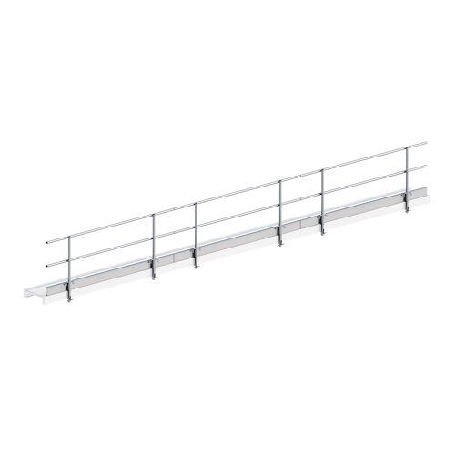 Layher Seitenschutz für Alu-Steg 600 9,10m Länge