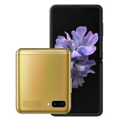 Samsung Galaxy Z Flip SM-F700F/DS 8GB 256GB - Spiegel Gold