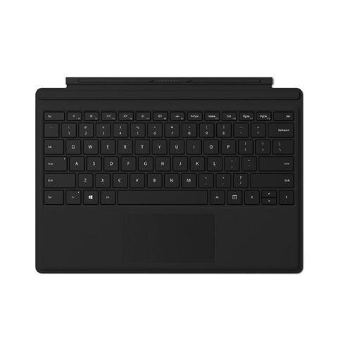 Microsoft Surface Pro Type Cover Tastatur für Surface Pro 2017 / Pro 5 / Pro 6 - Schwarz (US Version)