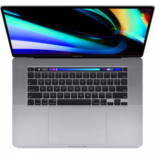 Apple 16 MacBook Pro 9th i7 16GB RAM 512GB SSD (QWERTY Tastatur) - Space Grau