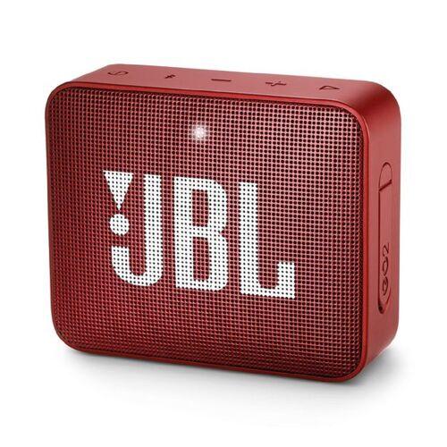 JBL GO 2 Tragbar Bluetooth Lautsprecher - Rubinrot