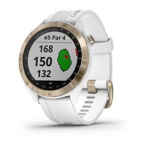 Garmin Approach S40 GPS Golf Smartwatch (010-02140-52) - Weiß (Internationales Modell / Englisch)