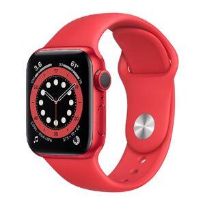 Apple Watch Series 6 GPS 40mm Aluminiumgehäuse (PRODUCT) RED SportarmBand