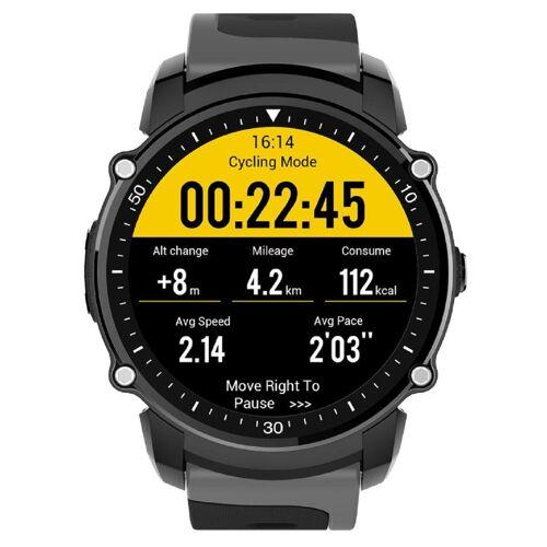 Kingwear FS08 1.26 GPS IP68 Smartwatch - Grau (Internationales Modell / Englisch)