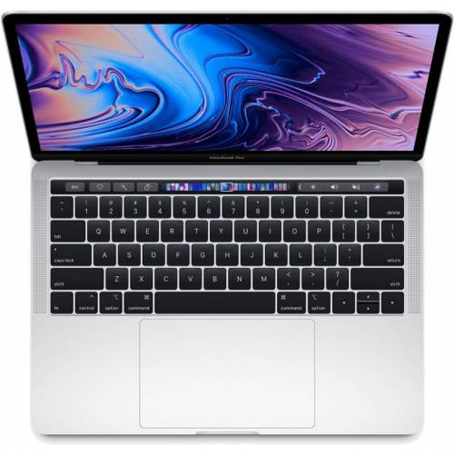 Apple Macbook Pro 13.3 2018 8GB/256GB i5 2.3GHz SSD MR9U2 - Silber (US Tastatur mit Touchbar) (QWERTY Tastatur)