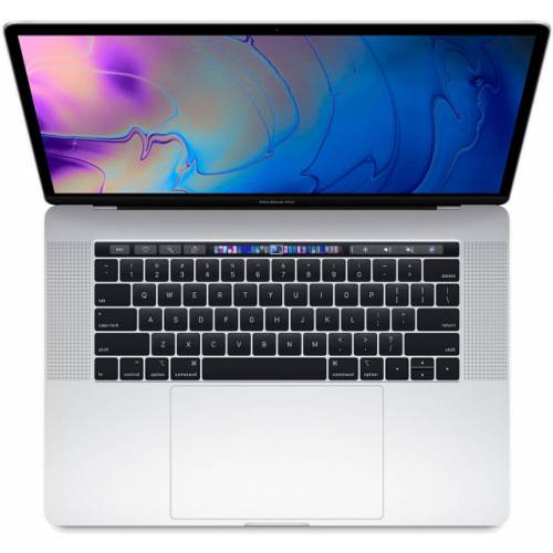 Apple Macbook Pro 15.4 2018 16GB/512GB i7 2.6GHz SSD MR972 - Silber (US Tastatur mit Touchbar) (QWERTY Tastatur)