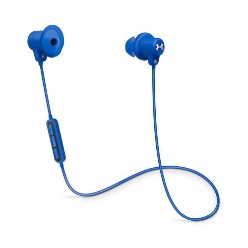 JBL Under Armour Sport Kabelloser In-Ear-Sportkopfhörer - Blau