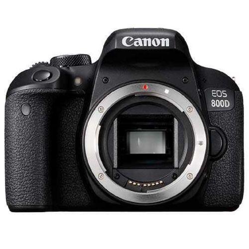 Canon EOS 800D SLR-Digitalkamera mit EF-S 18-55mm f/4-5.6 IS STM Objektiv
