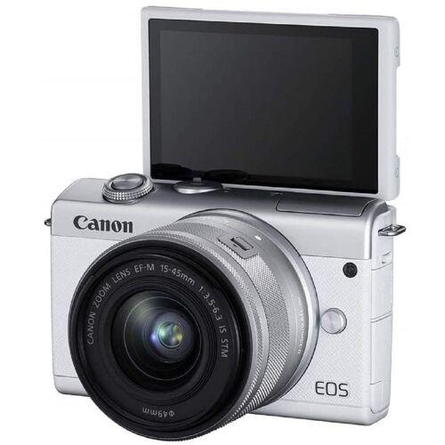 Canon EOS M200 KIT EF-M 15-45mm Objektiv - Weiß