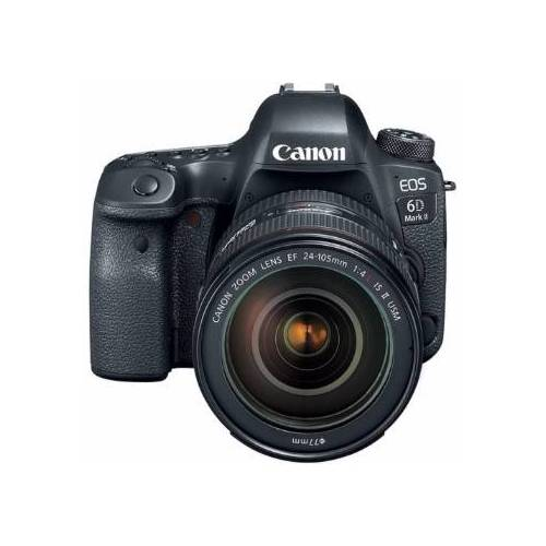 Canon EOS 6D Mark II SLR-Digitalkamera mit 24-105mm f/4 II Objektiv