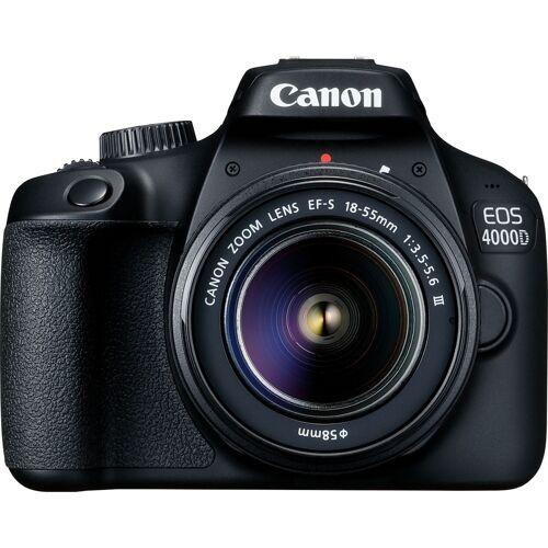 Canon EOS 4000D Kit mit 18-55 DC III Objektiv SLR-Digitalkamera Gehäuse