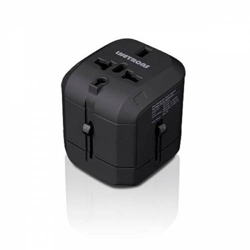 Swiss Lifetrons Mini Weltweit Reiseadapter (FG-2101S-BK1)