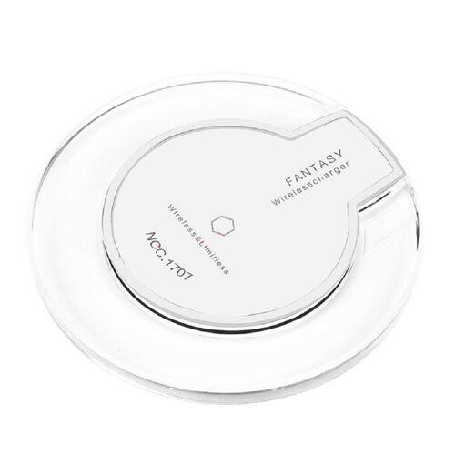 Generic Qi Wireless Schnell Ladegerät LED Drahtloses Induktive Ladestation - Weiß