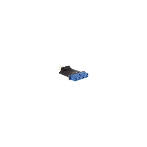 InLine USB 3.0 zu 2.0 Adapter intern, USB 3.0 19pin auf USB 2.0 Pfostenstecker intern