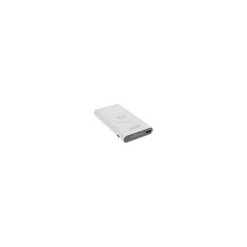 InLine Qi-Plate Powerbank, 8000mAh, Wireless Charging, induktiv kabellos laden und wiederaufladen, weiß