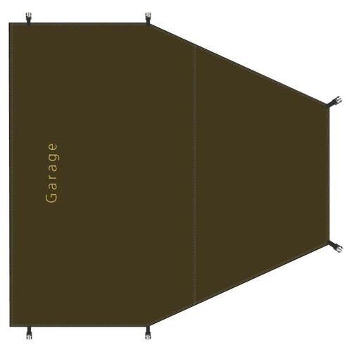 Redverz Zeltunterlage für den Garagenbereich des Redverz Atacama Expedition Tent