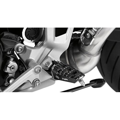 BMW Motorrad HP Fussraste gefräßt links