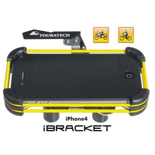 Touratech Lenkerhalterung *iBracket* für Apple iPhone4 und iPhone 4S *Motorrad & Fahrrad *