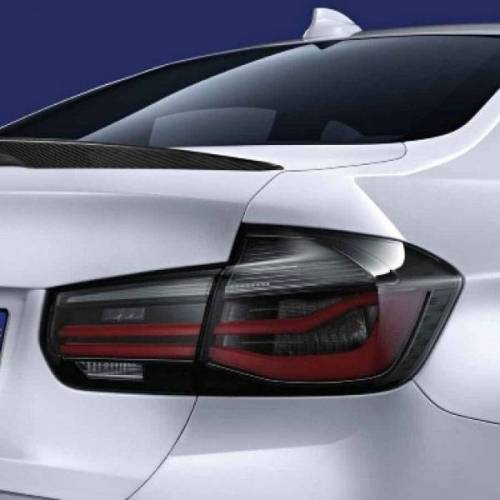 BMW PKW BMW 3er F30 F80 LCI M Performance Black Line LED Heckleuchten Rückleuchten