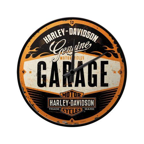 Harley Davidson Wanduhr Garage Style W-51083