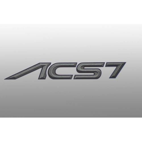AC Schnitzer Typenbezeichnung Emblem für BMW 7er ACS7