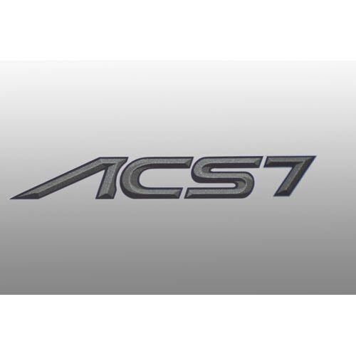 AC Schnitzer Typenbezeichnung Emblem ACS7 für BMW