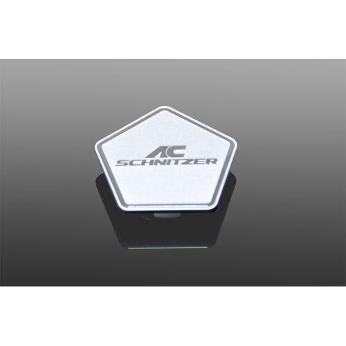 AC Schnitzer Nabenkappe silber für BMW Felgen Typ-VIII
