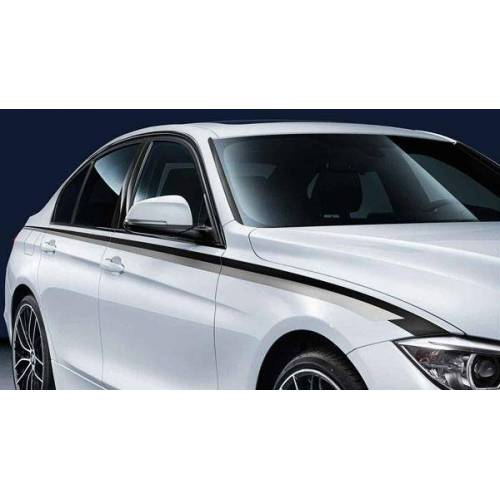 BMW PKW orig. BMW M Performance Seitenstreifen 3er F30 F31