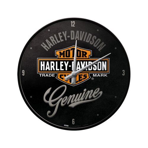 Harley Davidson Wanduhr Genuine Style Schwarz