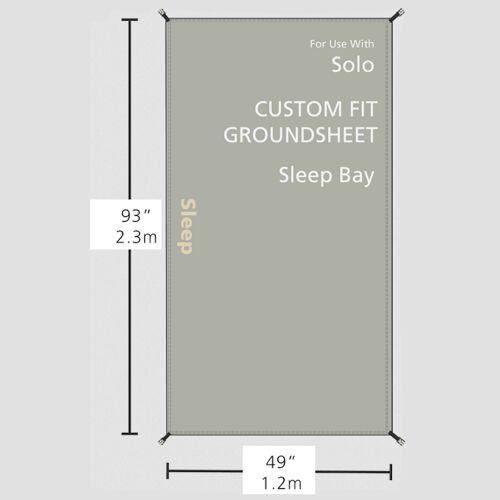 Redverz Zeltunterlage für den Schlafbereich des Redverz Solo Expedition Tent