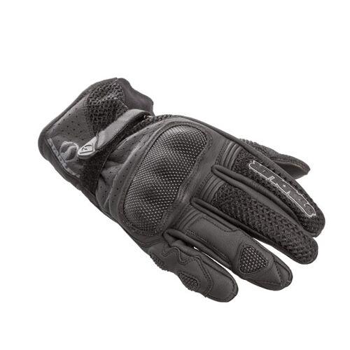 Stadler Motorrad Handschuhe Vent Schwarz