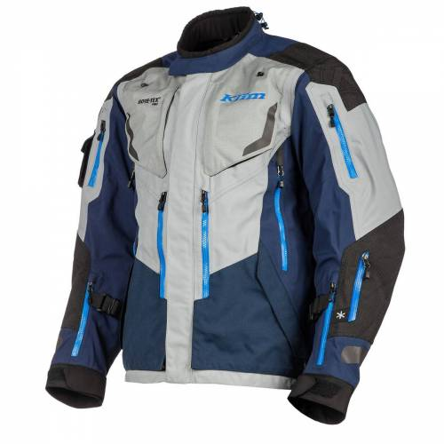 Klim Badlands Pro Motorradjacke Textil Blau