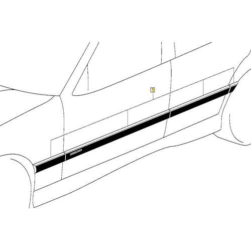 BMW PKW BMW 3er E36 Coupe & Cabrio M Stoßleisten Nachrüstsatz