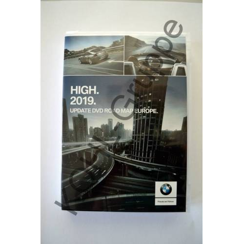 BMW PKW orig. BMW Navi 2019 Update DVD Road Map Europa Europe HIGH