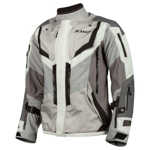 Klim Badlands Pro Motorradjacke Textil Grau